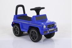 Детский толокар Mercedes JQ663 (G63) синий-кожа