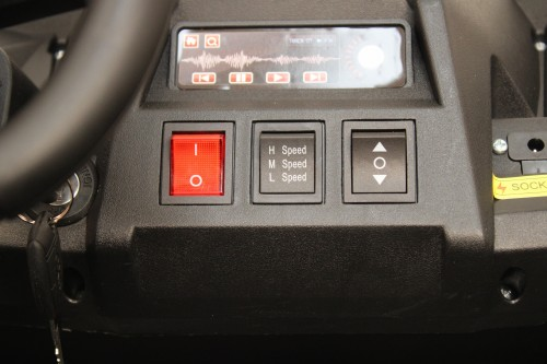 Детский электромобиль M222MM красный Spider