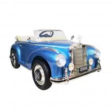 Детский электромобиль Mercedes 300S синий глянец
