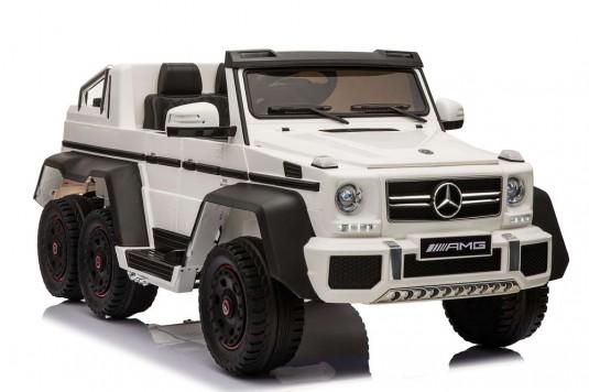 Детский электромобиль Мercedes-Benz A006AA белый