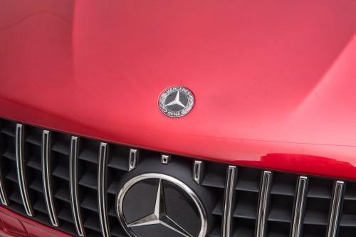 Детский электромобиль Mercedes-Benz GLC63 S 4WD (H111HH) вишневый глянец