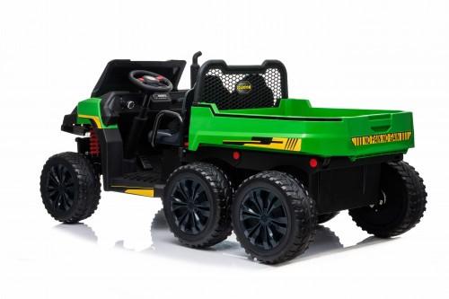 Детский электромобиль Т100ТТ зеленый