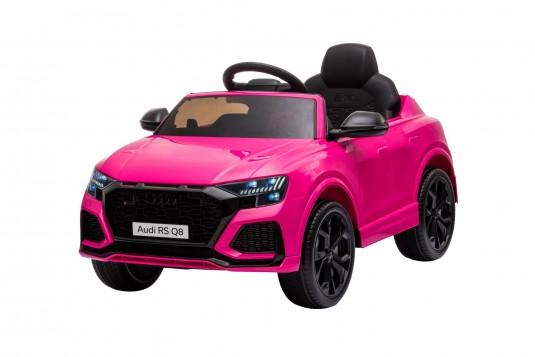 Детский электромобиль Audi RS Q8 (HL518) розовый