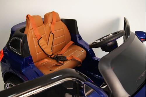 Детский электромобиль  Е 007 КХ синий глянец
