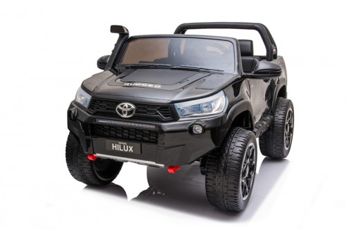 Детский электромобиль DK-HL850 Toyota Hilux черный глянец