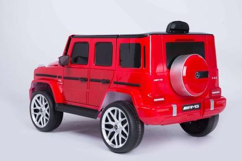 Детский электромобиль Mercedes-Benz G63 (T999TT) вишневый глянец