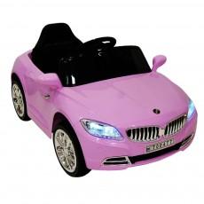 Детский электромобиль Т004 ТТ розовый