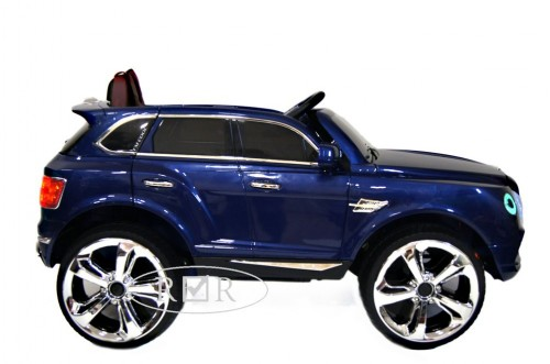 Детский электромобиль Е777КХ синий глянец