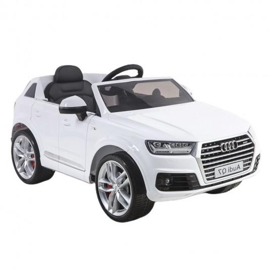 Детский электромобиль Ауди Q7 quattro белый
