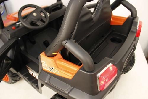 Детский электромобиль О333ОО оранжевый