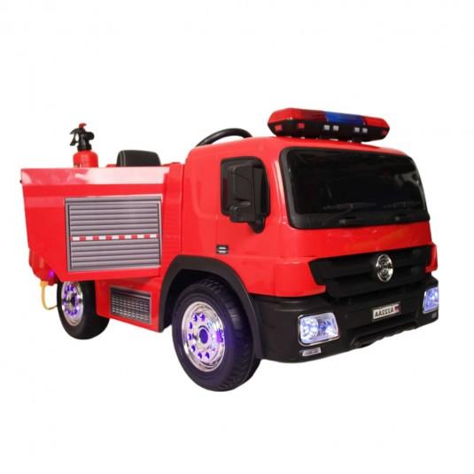 Детский электромобиль А222АА красный (пожарная)