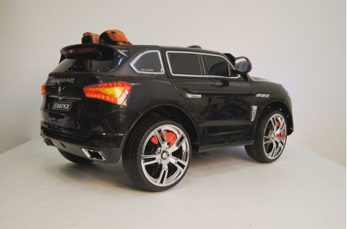 Детский электромобиль  Е 007 КХ черный глянец