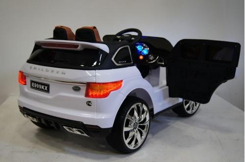 Детский электромобиль E999KX белый