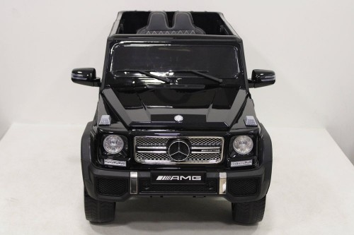 Детский электромобиль Мercedes-Benz G65 (4*4) черный
