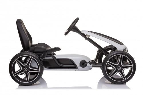 Детский веломобиль Mercedes-Benz (H333HH) белый