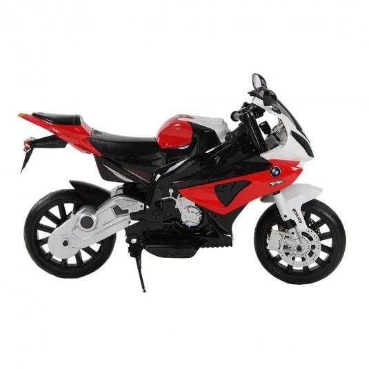 Детский электромотоцикл BMW (JT528) красный