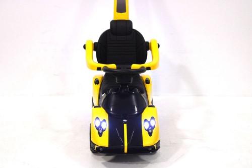 Детский толокар A002AA-М желтый