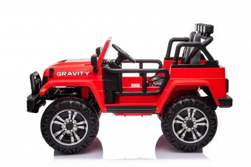 Детский электромобиль T444TT 4WD красный