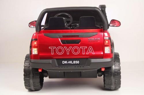 Детский электромобиль Toyota Hilux (DK-HL850) вишневый глянец