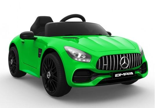 Детский электромобиль О008ОО Mercedes-Benz GT зеленый глянец