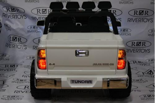 Детский электромобиль Tundra mini (JJ2266) белый
