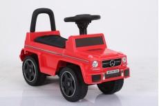 Детский толокар Mercedes JQ663 (G63) красный-кожа