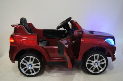 Детский электромобиль ML350 вишневый глянец