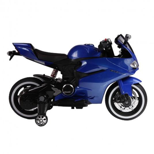 Детский электромотоцикл А001АА синий