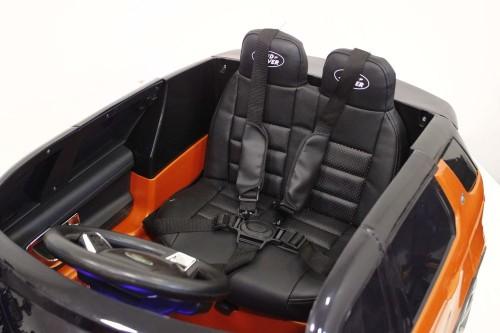 Детский электромобиль Land Rover o111oo оранжевый