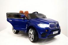 Детский электромобиль Е002КХ синий глянец