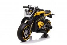 Детский электромотоцикл X111XX желтый