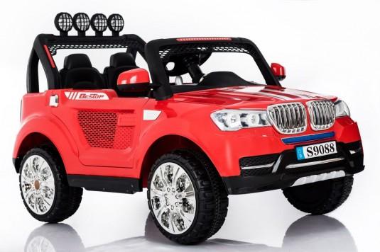 Детский электромобиль Т005 ТТ красный (4*4)