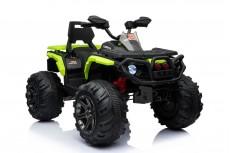 Детский электроквадроцикл К111КК зеленый