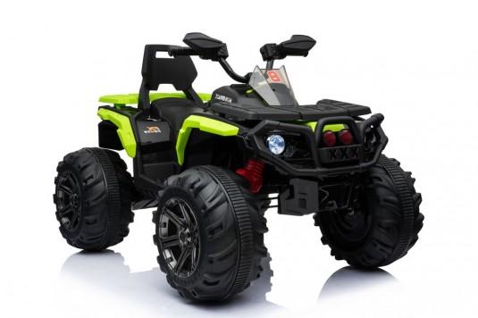 Детский электроквадроцикл K111KK зеленый