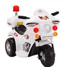 Детский электромотоцикл 998 белый