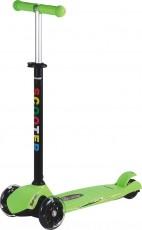 Самокат JY-H02 зеленый