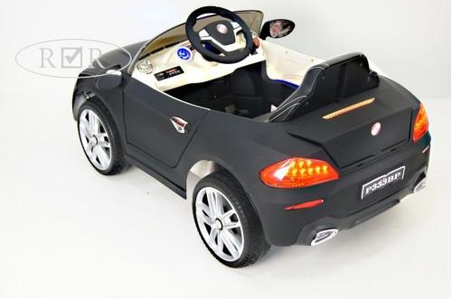Детский электромобиль Р333ВР черный матовый