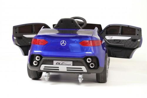 Детский электромобиль Mercedes-Benz GLC (K555KK) синий глянец