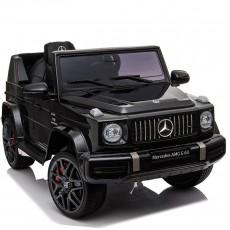 Детский электромобиль Mercedes-AMG G63 (O777OO) черный глянец