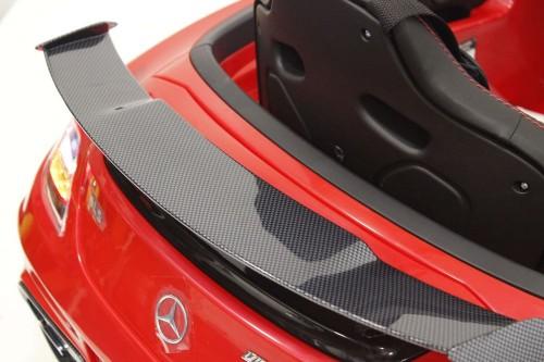 Детский электромобиль Mercedes-Benz SLS Vip-Carbon (A333AA) красный