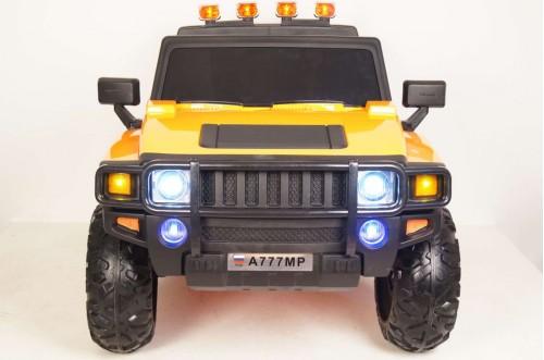 Детский электромобиль A777MP оранжевый глянец