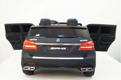Детский электромобиль GLS63 AMG черный матовый