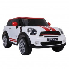 Детский электромобиль Mini Cooper (JJ2258) белый