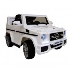 Детский электромобиль Benz G65 (LS-528) белый