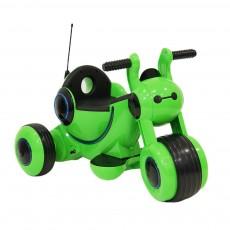 Детский электромотоцикл HL300 зеленый