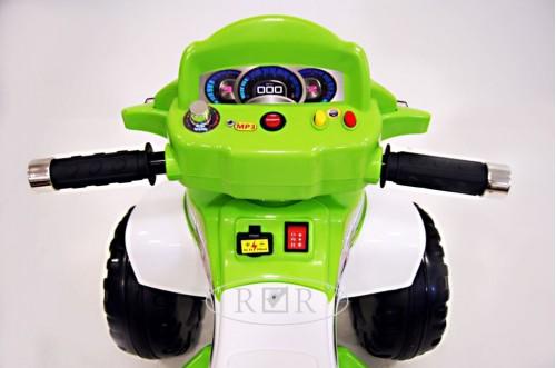 Детский электроквадроцикл JY20А8 зеленый