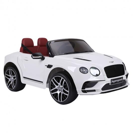Детский электромобиль Bentley Supersport (JE1155) белый