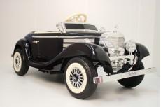 Детский электромобиль Mercedes-Benz М111ММ черный глянец