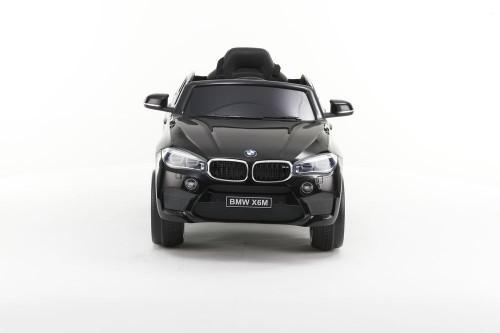 Детский электромобиль BMW X6M (JJ2199) черный глянец