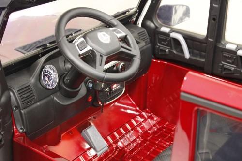 Детский электромобиль Мercedes-Benz X555XX вишневый глянец